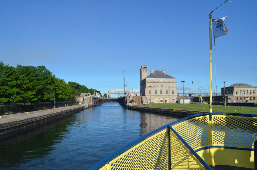 Soo Locks Boat Tours MacArthur Lock