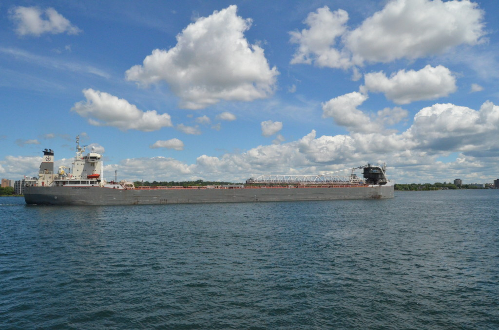 Soo Locks Boat Tours Manitoulin Freighter