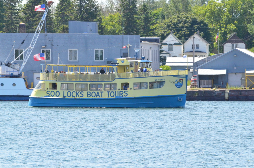 Soo Locks Boat Tours Nokomis Cruise Ship