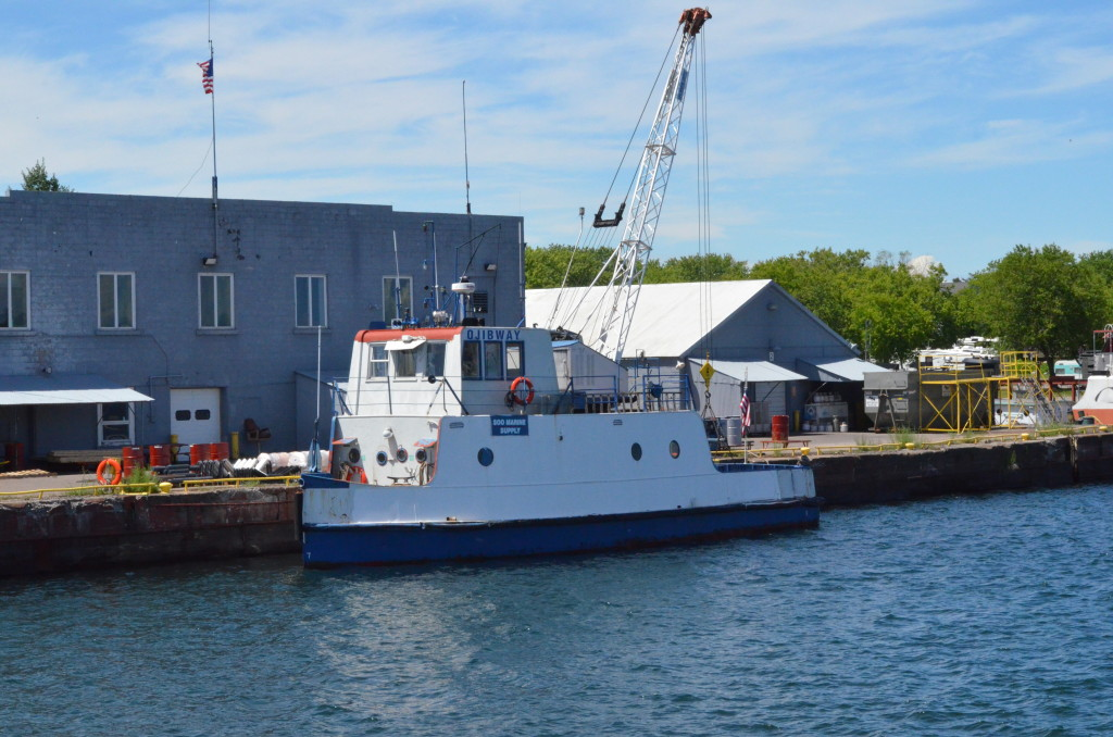 Soo Locks Boat Tours Ojibway Supply Ship Sault Ste. Marie