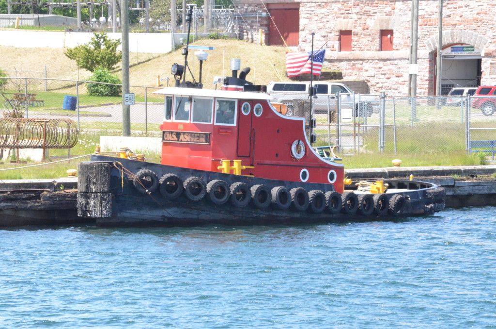 Soo Locks Boat Tours Tug Chas. Asher
