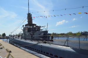 USS Silversides Museum Muskegon Top Deck