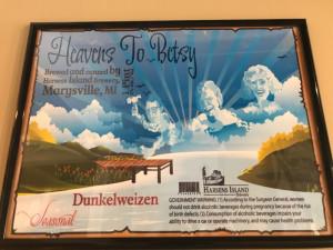 Harsens Island Beer Poster Brewery 2