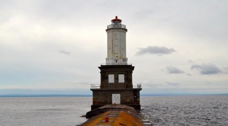 Keweenaw Waterway Lower Entrance Light, Lake Superior