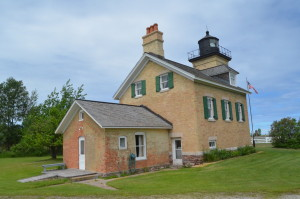 Ontonagon Lighthouse Back View Museum Tours