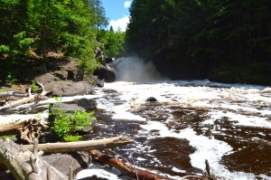 Sturgeon Falls Feature Photo Michigan Waterfall UP