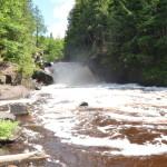 Sturgeon Falls – A Waterfall in the Sturgeon River Gorge Wilderness