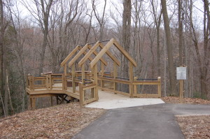 Grand Ravines Park Boardwalk Overlook