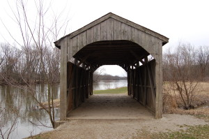 Grand Ravines Park Covered Bridge