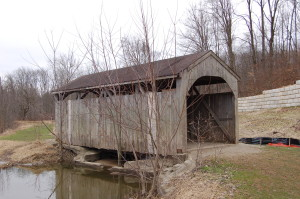 Grand Ravines Park Ottawa County Covered Bridge