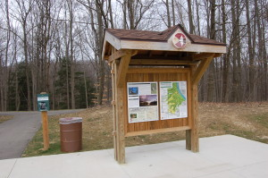 Grand Ravines Park Trail Signs