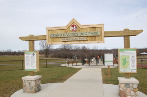 Grand Ravines South Dog Park Ottawa County