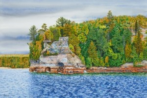 Artprize 9 Artprize 2017 Pictured Rocks National Lakeshore Painting