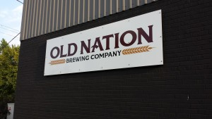 Old Nation Brewing Michigan M43 Sign