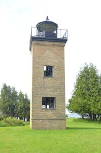 Peninsula Point Lighthouse Tower Michigan