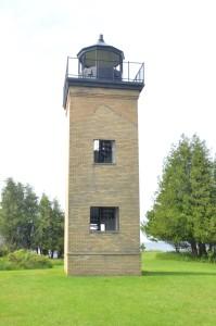 Peninsula Point Lighthouse Tower Michigan