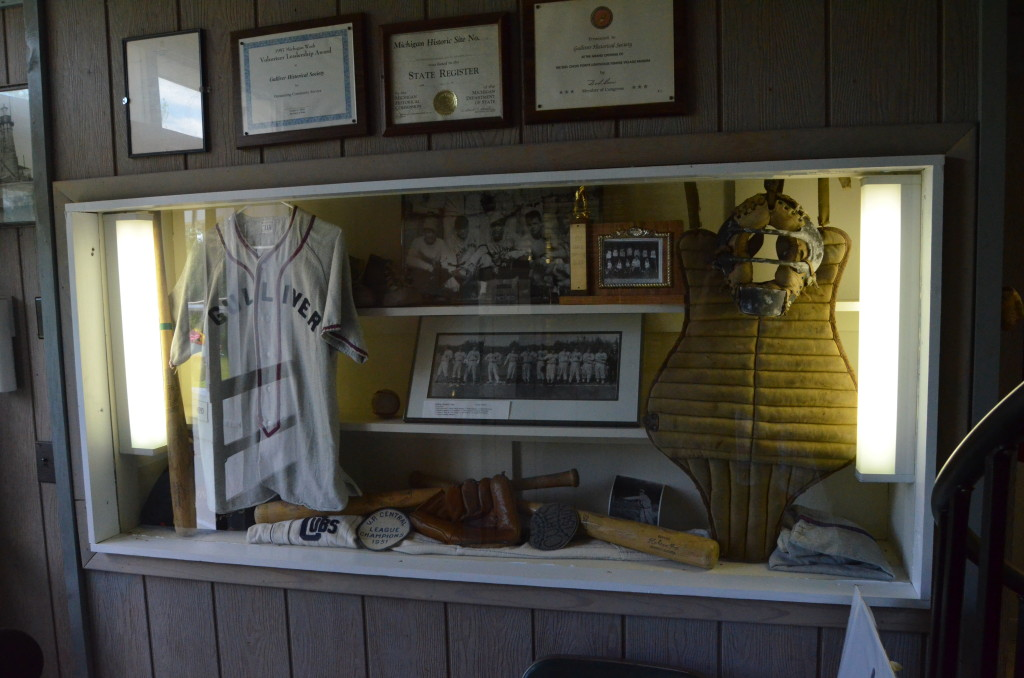 Seul Choix Point Lighthouse Baseball Display Museum
