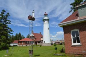 Seul Choix Point Lighthouse Birdhouse Feature Photo