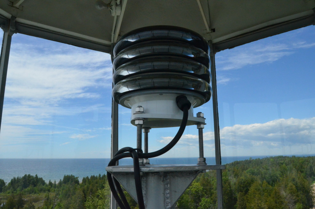 Seul Choix Point Lighthouse Tower View Lantern