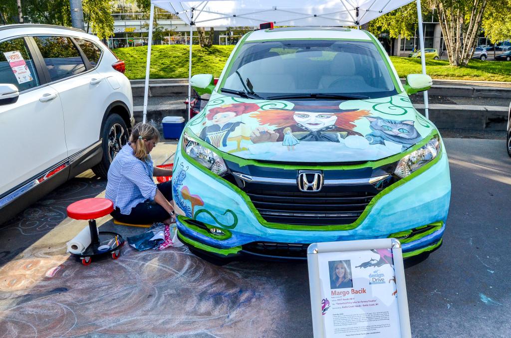West Michigan Honda Dealers 2017 Design & Drive Contest at Rosa Parks Circle