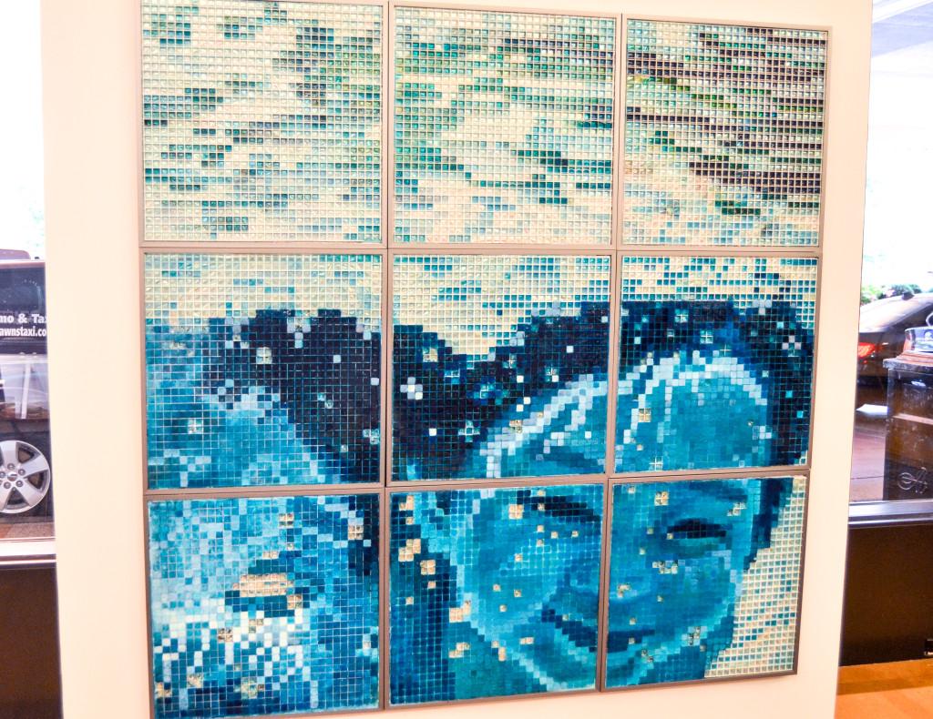 """""""Water Joy"""" by Lulu Zheng, inside the Amway Grand Plaza Hotel"""