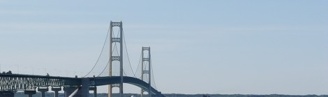 Mackinac Bridge Sets Traffic Record in July 2019