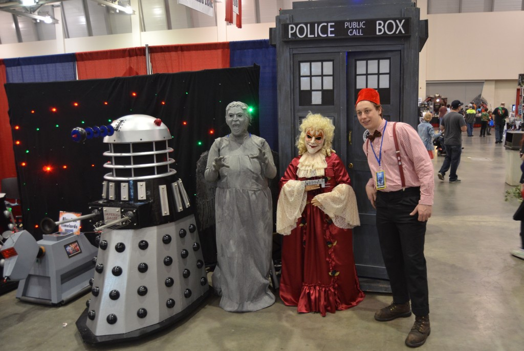 The Doctor Who booth