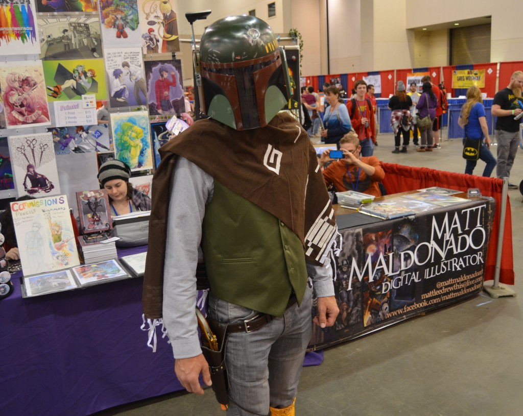 This Comic Con guest had a unique take on Boba Fett