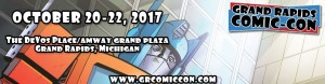 Grand Rapids Comic Con Banner Logo 2017