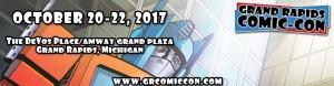 Grand Rapids Comic Con Banner Logo 2017