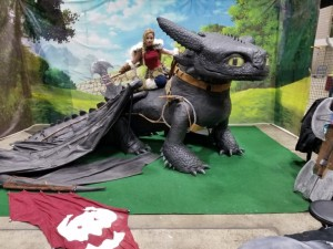 Toothless How to Train Your Dragon Grand Rapids Comic Con
