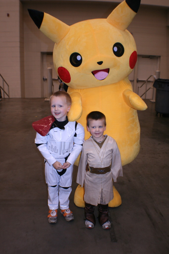 Even Pikachu made an appearance at Grand Rapids Comic Con