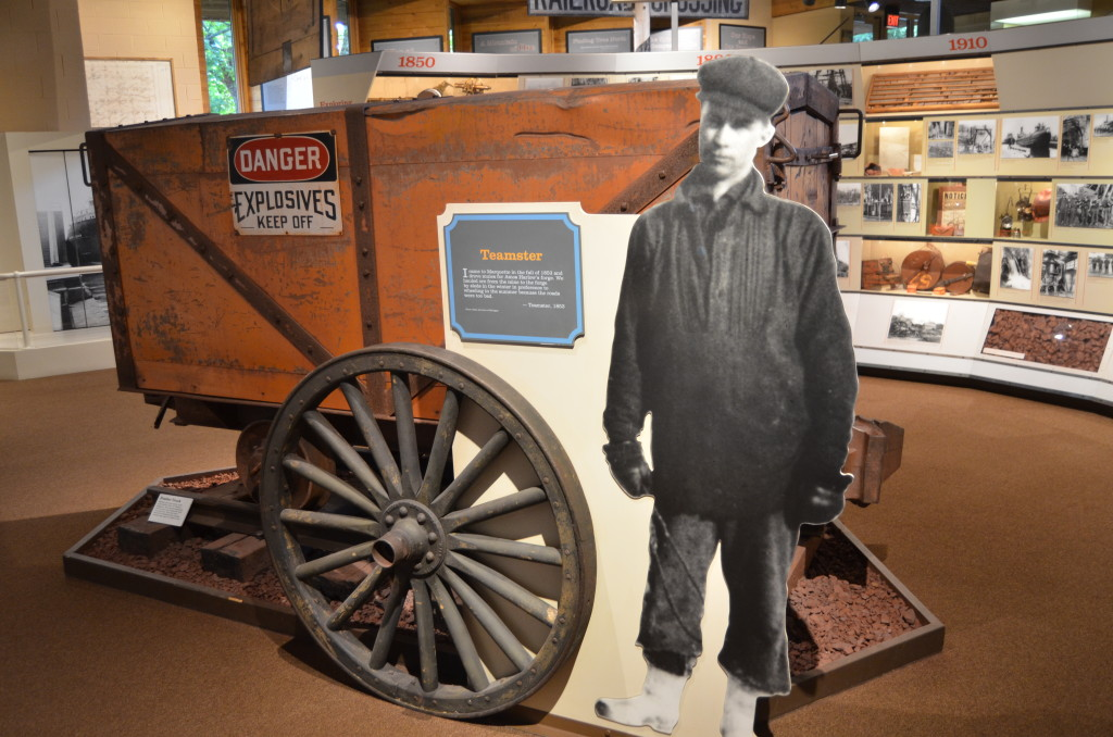Michigan Iron Industry Museum Brakeman Display