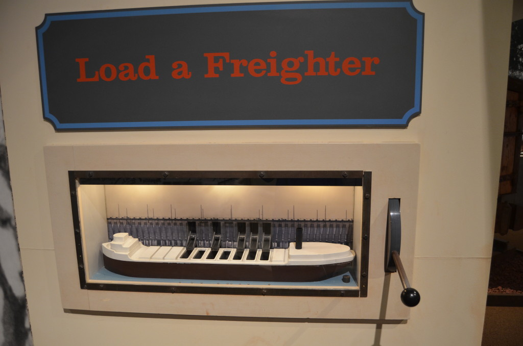 Michigan Iron Industry Museum Load Freighter Interactive