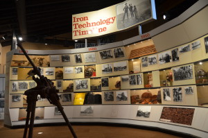 Michigan Iron Industry Museum Technology Timeline