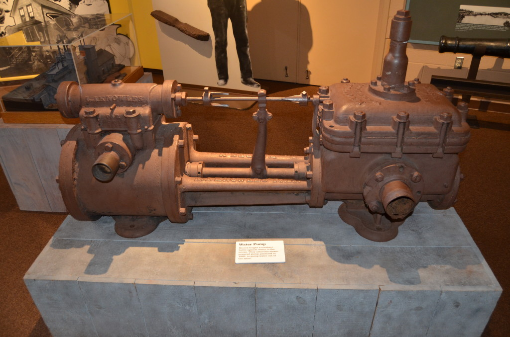 Michigan Iron Industry Water Pump Display
