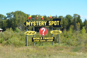 Mystery Spot US2 Scenic Byway