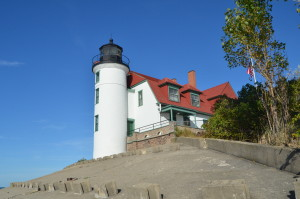 Point Betsie Lighthouse Lake Michigan View
