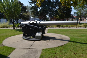 Alpena City Hall USS Maine Cannon