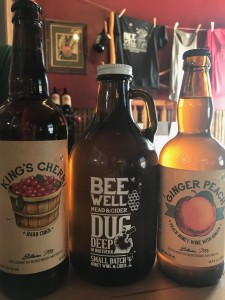 Bee Well Meadery Bellaire Michigan Bottles