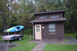 Brimley State Park Mini Cabins Michigan