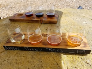 Burnt Marshmallow Brewing Flight Petoskey