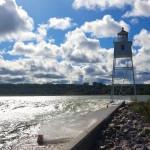 Grand Marais Harbor Lights, Lake Superior