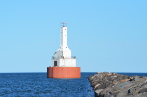 Keweenaw Waterway Upper Entrance Light Michigan