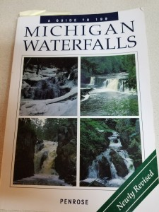 Michigan Waterfalls Penrose Book