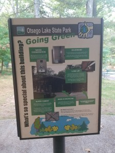 Otsego Lake State Park Green Initiatives Gaylord