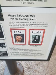 Otsego Lake State Park Oppenheimer Meeting Gaylord MI
