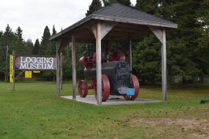 Tahquamneon Logging Museum newberry Michigan
