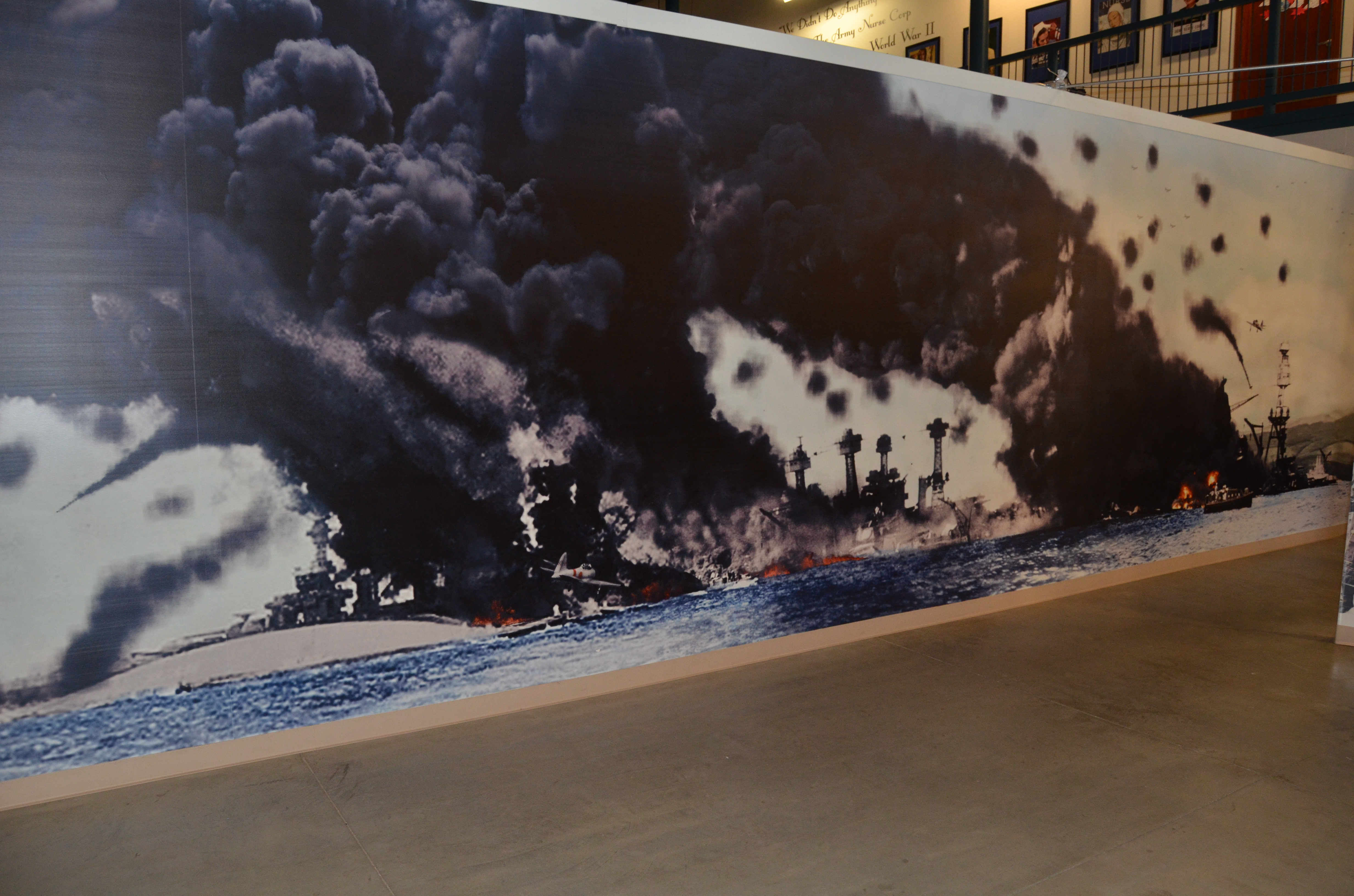 USS SIlversides WWII Pacific Theater Mural