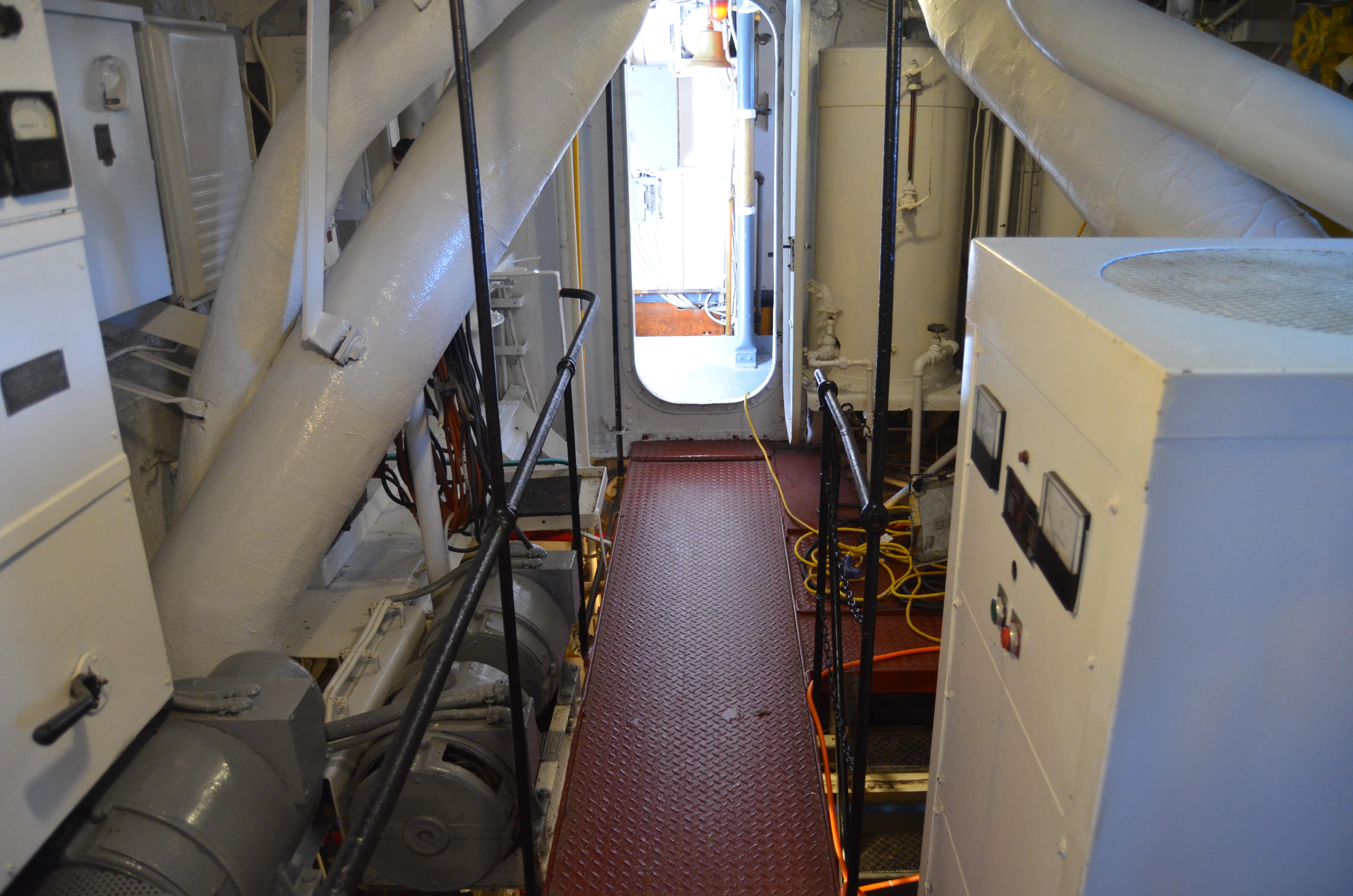 USS Silversides Submarine Museum Below Deck McLane